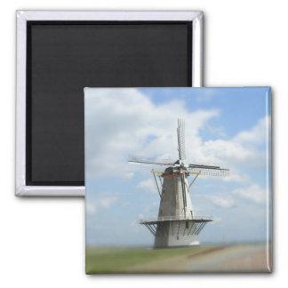 Molino de viento holandés imán