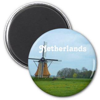 Molino de viento holandés imanes