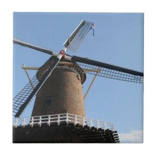 """Molino de viento """"lek del en de Rijn"""", bij Duurste Azulejo Cuadrado Pequeño"""