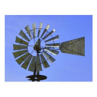 Molino de viento postal