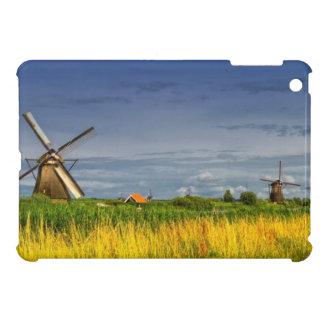 Molinoes de viento en Kinderdijk, Holanda, Países