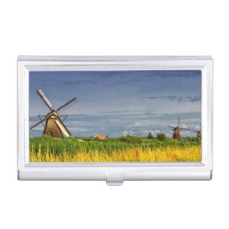 Molinoes de viento en Kinderdijk, Holanda, Países Cajas De Tarjetas De Presentación