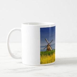 Molinoes de viento en Kinderdijk, Holanda, Países Taza De Café