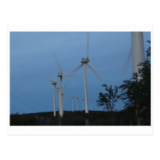 Molinoes de viento postal