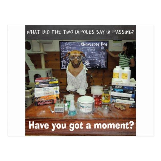 Momento de dipolo del perro del conocimiento postal