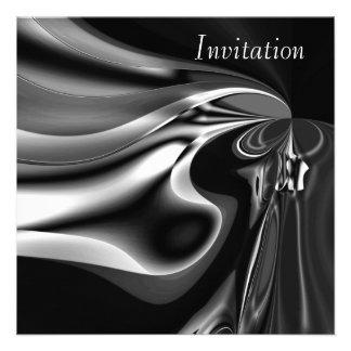 Momento de fusión de plata del arte abstracto de l