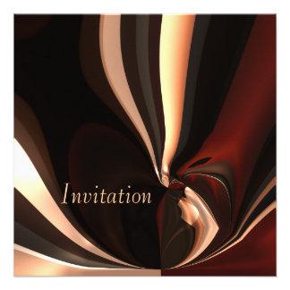 Momento de fusión del chocolate del arte abstracto