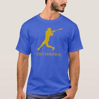 Momento del aterrizaje del béisbol camiseta