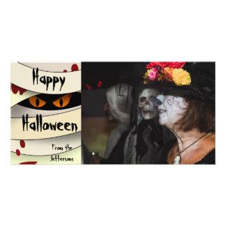 Momia Halloween de la sangría Tarjeta