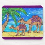 Momia y Bub Mousepad del camello Tapete De Ratón