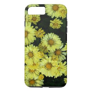 Momias amarillas - caja del teléfono de la flor funda iPhone 7 plus