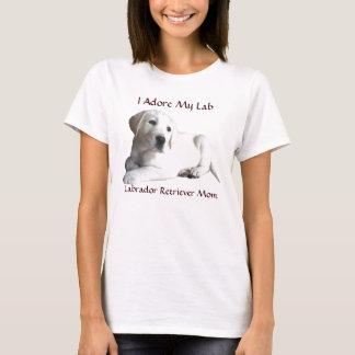 MomT-Camisa del labrador retriever Camiseta