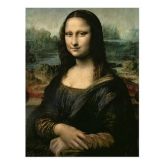 Mona Lisa, c.1503-6 Postal