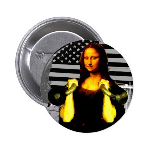 Mona Lisa con KettleBells Pin