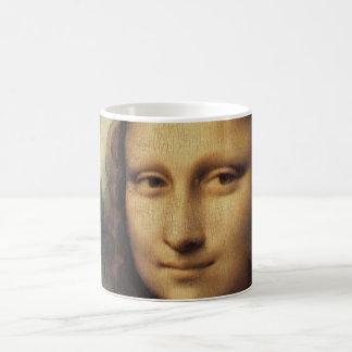Mona Lisa detalladamente Taza Básica Blanca