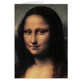 Mona Lisa (detalle) Tarjeta De Felicitación