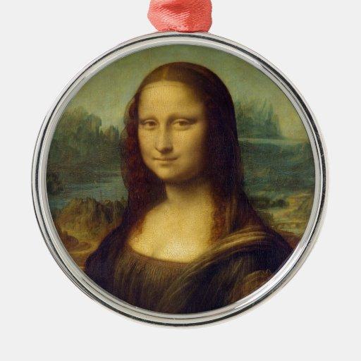 Mona Lisa - Leonardo da Vinci Ornamente De Reyes