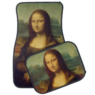 Mona Lisa - Leonardo da Vinci Alfombrilla De Coche