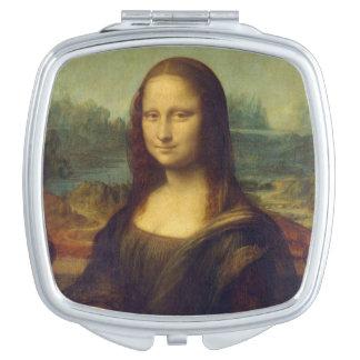 Mona Lisa - Leonardo da Vinci Espejos Compactos