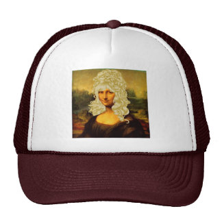 Mona Lisa rubia Gorras De Camionero