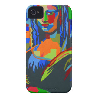 Mona Lisa Wpap Funda Para iPhone 4 De Case-Mate