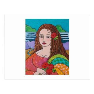 Mona maníaca postal