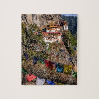 Monasterio de la jerarquía del tigre, Bhután Puzzle