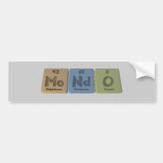 Mondo-Mo-Nd-O-Molybdenum-Neodymium-Oxygen.png Pegatina Para Coche
