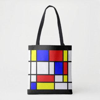 Mondrian - la bolsa de asas de los colores