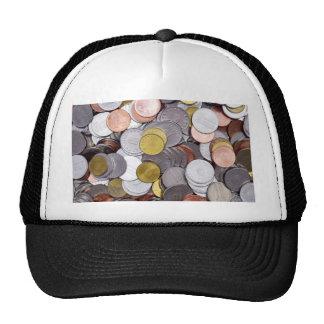 Monedas rumanas de la moneda gorros bordados