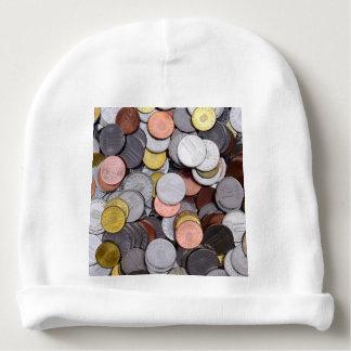 monedas rumanas gorrito para bebe