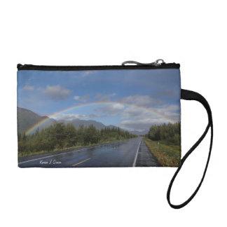 Monedero del arco iris de Alaska