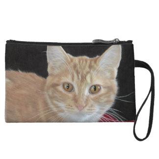 Monedero del dibujo del gatito del ranúnculo