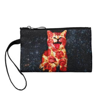 Monedero gato de la pizza - gatito - minino