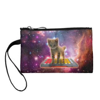 Monedero gato del teclado - gato de tabby - gatito