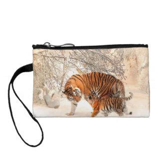 Monedero Tigre y cachorro - tigre