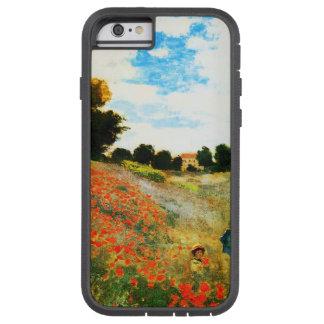 Monet-Amapolas de Claude en Argenteuil Funda Tough Xtreme iPhone 6