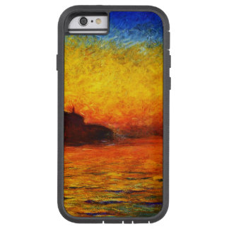 Monet-Puesta del sol de Claude en Venecia Funda Tough Xtreme iPhone 6