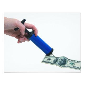 MoneyPumpInflate040909 Invitación 10,8 X 13,9 Cm