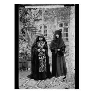 Monja ortodoxa del esquema postal