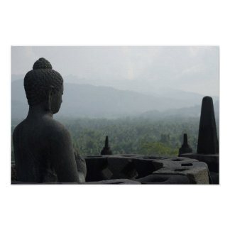 Monje de Borobudur Póster