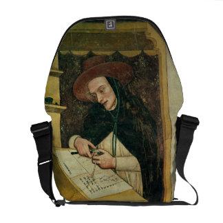 Monje dominicano en su escritorio, del ciclo de 'p bolsas de mensajeria