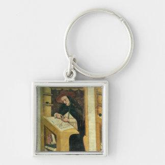 Monje dominicano en su escritorio, del ciclo de 'p llaveros