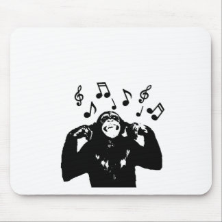 monkeymonkey de la música alfombrilla de ratón