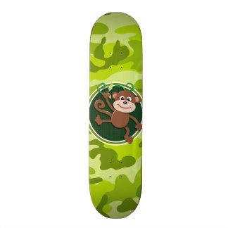 Mono; camo verde claro, camuflaje monopatines personalizados