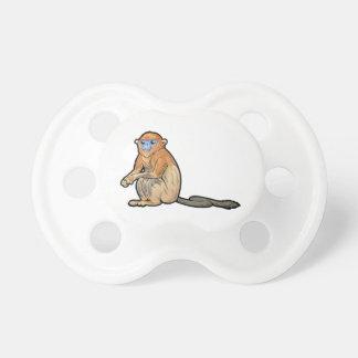 Mono chato de oro chupetes para bebes