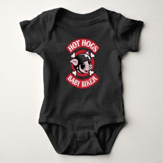 Mono clásico caliente del bebé de Hogs™ Body Para Bebé