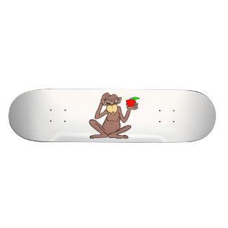 Mono con Apple Monopatín 21,1 Cm