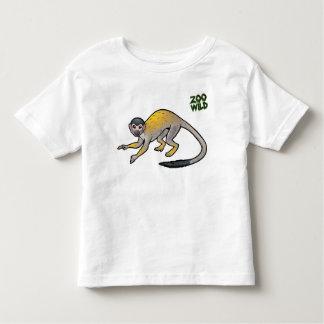 Mono de ardilla camiseta