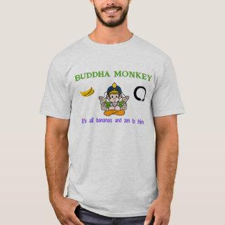 Mono de Buda Camiseta